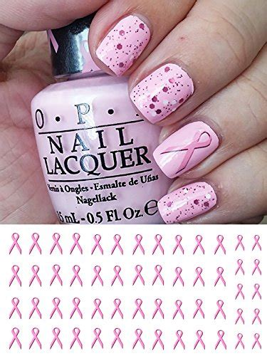 breast cancer awareness rbbons water  nail art decals