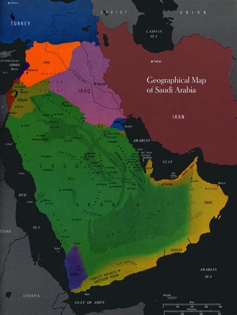saudi geological maps