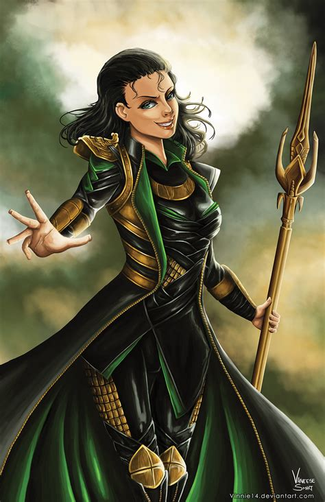 Lady Loki By Vinnie14 On Deviantart