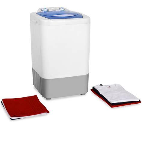 mini lave linge 2 8kg machine a laver programmable cing caravane 250w blanc