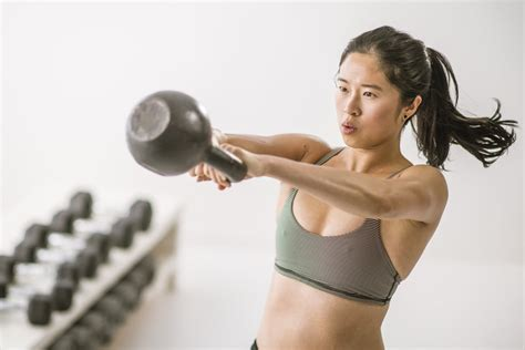 kettlebell workout cardio strength minute popsugar swings workouts leg hiit loss fat fitness swing glutes arms core rapid fast