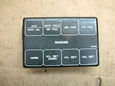 S14 Fuse Box On Side Of by Nissan Fuse Car Truck Parts Ebay