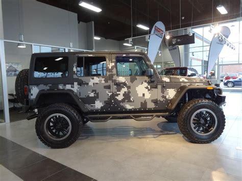 camo jeep yj jeep rubicon unlimited with kevlar digital camo jeep