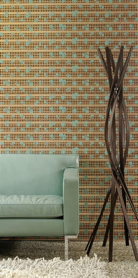 mid century modern wallpaper ideas    love