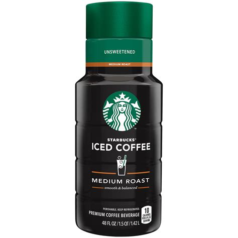 Ordering one from starbucks can be an adventure, since there are so many options and variations to choose from. Starbucks, Unsweetened Iced Coffee, 48 Fl. Oz. - Walmart.com - Walmart.com