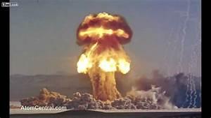 "NUKE TESTS ""The mushroom cloud of the atomic bomb"" - YouTube"