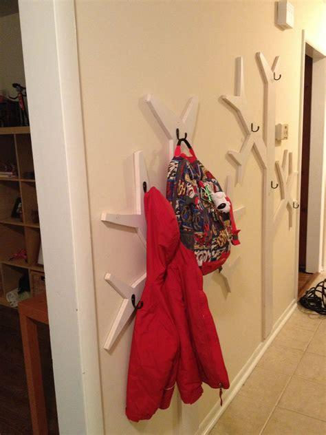 popular woodworking magazine diy coat rack wall mounted