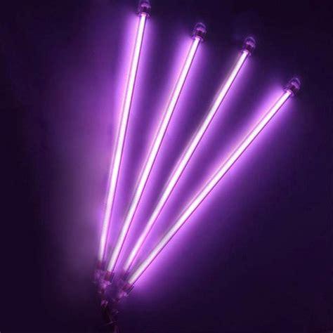 car auto underbody  piece neon kit lights purple