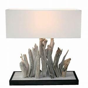 Ou Acheter Du Bois Flotté : comment faire une lampe en bois flott ~ Teatrodelosmanantiales.com Idées de Décoration