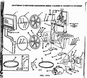 Craftsman 113243440 Parts List And Diagram