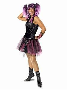 80er Jahre Style : 80er jahre punkerin damenkost m gothic schwarz pink g nstige faschings kost me bei karneval ~ Frokenaadalensverden.com Haus und Dekorationen