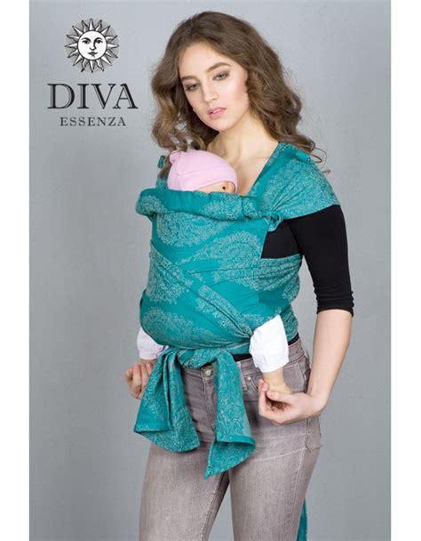 Diva Essenza Mei Tai 100% cotton: Smeraldo