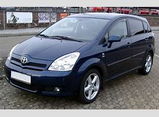 Toyota Corolla Verso Edition technical details, history