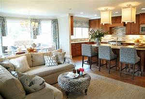 Open Concept Kitchen Living Room Design Ideas - Sortra