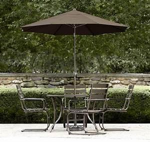 Garden Oasis Ridgetown 5pc Slat Sling Action Dining Set