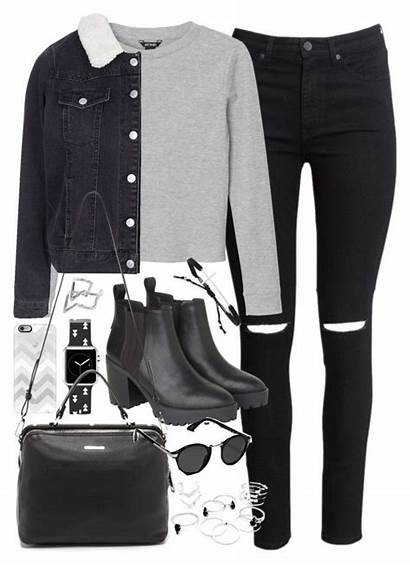 Polyvore Outfits Outfit Winter Casual Clothing Teen