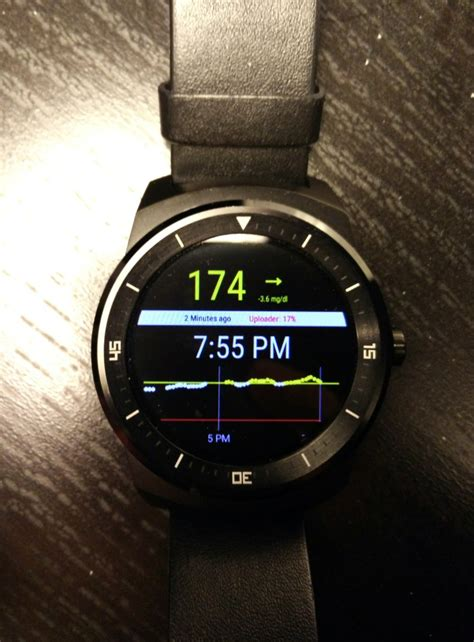 glucose monitoring app coming  android wear