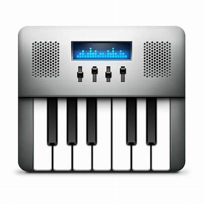Icon Midi Audio Setup Keyboard Icons Ico