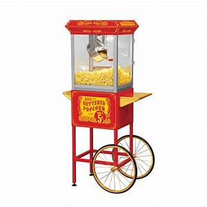 FunTime Popcorn FT860C Full Size Carnival Style Hot Oil