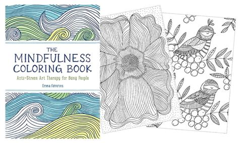 mindfulness coloring books 2pc groupon goods