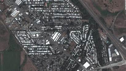 Phoenix Satellite Oregon Wildfire Maxar Technologies Before