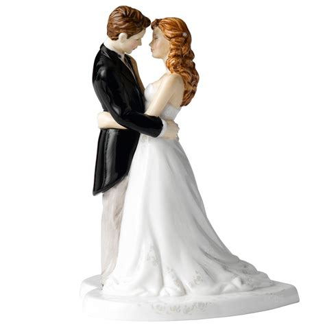 our wedding day hn5037 cake topper royal doulton