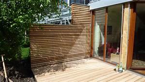 Sichtschutz Holz FUr Terrasse