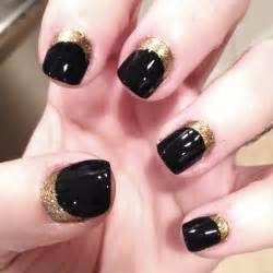 Tiffanyd nail art tutorial navy gold quot ruffian inspired