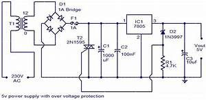 12v 4a Power Supply Circuit Diagram