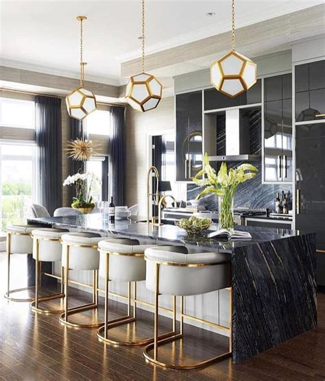 black  gold kitchen home bar decor home decor