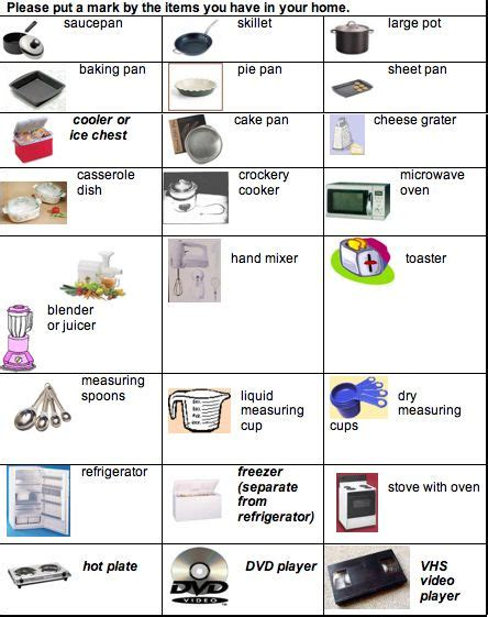 Kitchen Equipment Names by Kitchen Tools And Equipment Names Kitchen Equipment In