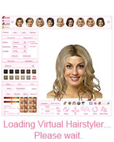 virtual hairstyles free makeover thehairstyler com