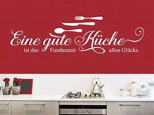 Sprüche Für Die Küche : wandtattoo spruch eine gute k che ~ Watch28wear.com Haus und Dekorationen