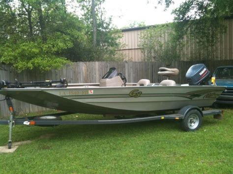 Aluminum Boats For Sale Louisiana Sportsman by 2001 G3 Aluminum Bass Boat Bass Boat For Sale In Louisiana