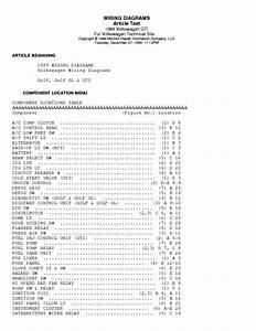 Vw Passat 1995 Wiring Diagram Service Manual Download  Schematics  Eeprom  Repair Info For