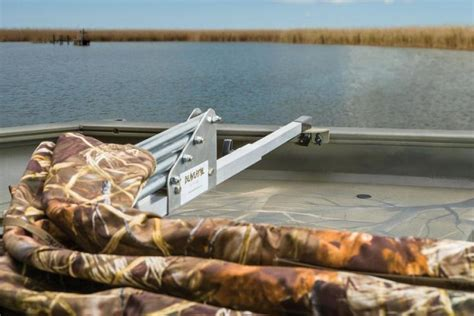 Versatrack Boat Duck Blind by Research 2013 Tracker Boats Grizzly 1654 Sportsman On