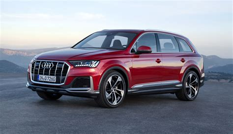 2020 audi q7 facelift adopts q8 look tech gtspirit