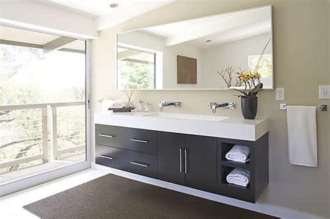 Modern Bathroom Floating Vanities by Vanity Rosariocabinets