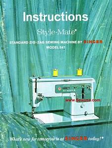 Singer 347 Instruction Manual