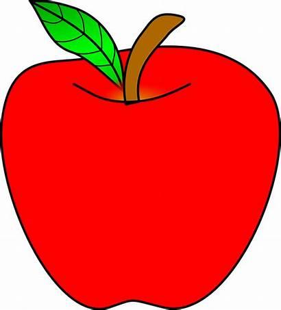 Apple Clipart Ripe Anomaly Fruit Healthy Pixabay