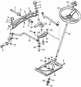 John Deere X125 Tractor Spare Parts