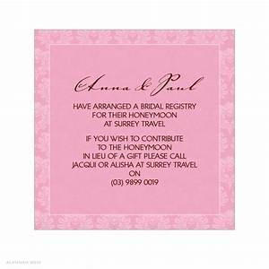 alannah rose wedding invitations stationery shop With wedding invitation include registry