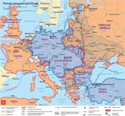 Eiropas Valstis Karte - Foto Kolekcija