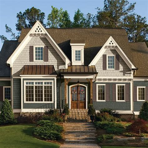 Two Tone Exterior Design Ideas, Pictures, Remodel And