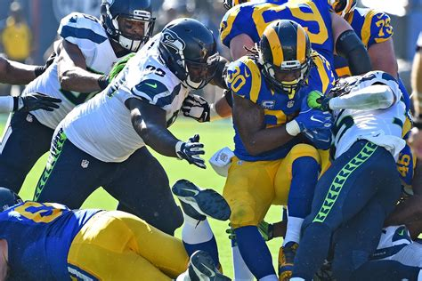 la rams overwhelming underdogs  seattle turf show times