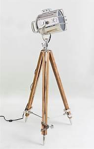 bogart surveyor style floor lamp nautical searchlight With surveyor s spotlight floor lamp