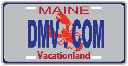 Maine Dmv Vanity Plates by Maine Dmv Simplified 2019 Information Dmv