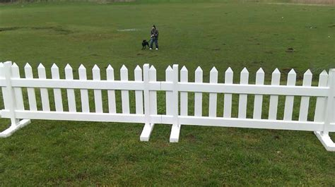 Temporary Picket Fence- 6ft Wide X 3ft High