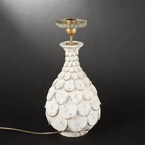 Pied De Lampe Bois : pied de lampe en bois sculpt de motifs papelonn s 2013040666 expertissim ~ Teatrodelosmanantiales.com Idées de Décoration