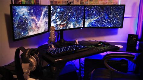 setup gaming pc gamer chair setups desk laptop room rgb computer insane game hardware computers desks build workstation pro